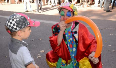 animation clown castres